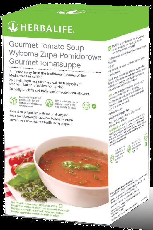 herbalife tomato soup pack