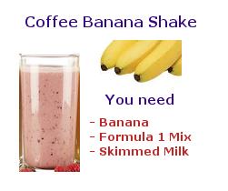cappuccino banana shake
