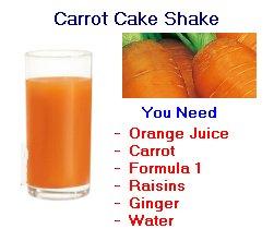 Herbalife carrotcake shake