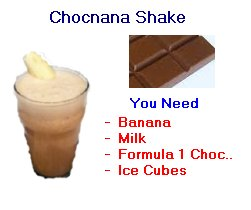 Herbalife chocolate banana shake