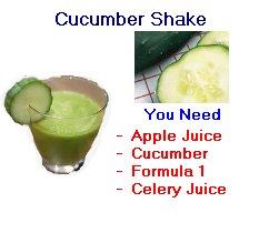 Herbalife cucumber shake