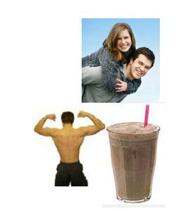 extra calorie shake