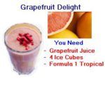 Herbalife grapefruit shake