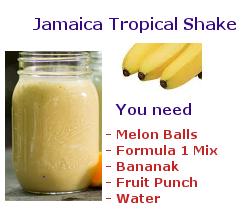 jamaican melon shake