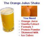 Herbalife Orange Juice Shake