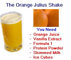 Herbalife Orange Juice Shake