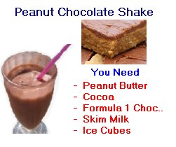 Herbalife peanut chocolate shake