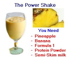 the power shake