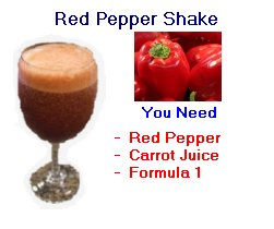 red pepper shake