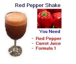 Herbalife red pepper shake