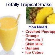 totally tropical shake