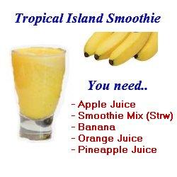 tropical island surprise shake